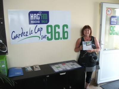 Radio HAG' FM - Gagnante GPS juillet 2014