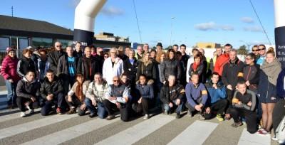 Téléthon site AREVA la Hague_6 12 2014
