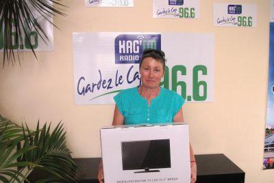 Agnès - Quettehou - téléviseur juillet 2016